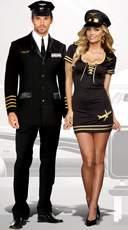Mile High Couple Costume