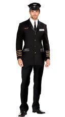 Mens Pilot Captain Costume
