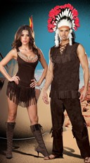 Tribe Hotties Couples Costume