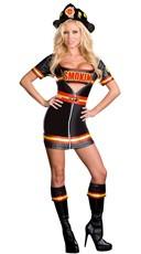 Smokin' Hot Fire Fighter Costume