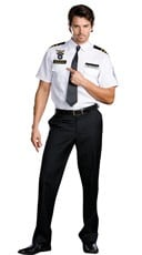 Men's Strip Search Officer Costume