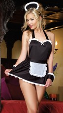 Sexy French Maid Babydoll Set