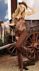 Bangin' Hot Cowgirl Costume