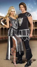 Sexy Knight Couples Costume