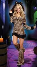 Cheetah-Luscious Costume