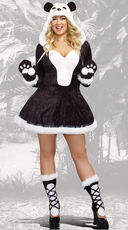 Plus Size Sexy Panda Bear Costume
