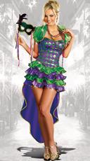 Mardi Gras Maven Costume