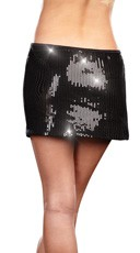 Sequin Starter Skirt