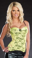 Rave And Roses Bustier
