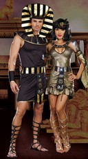 Egyptian Royalty Couples Costume