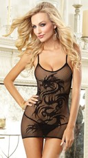 Dragon Desire Chemise and Thong