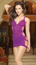 Haute Affair Chemise And Thong