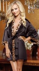Wild Passion Short Kimono Robe
