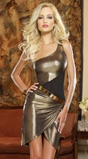 Gold and Spicy Club Dress