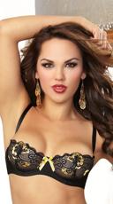 Glamour Goddess Lace Balconette Bra