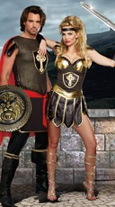 Coliseum Gladiators Couples Costume