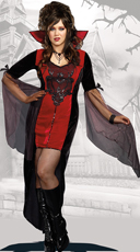 Plus Size Killing Me Softly Vampire Costume