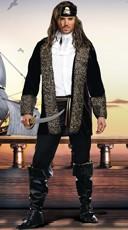 Men's Rock The Ship Pirate Costume