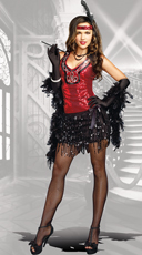 What's Shakin' Flapper Costume