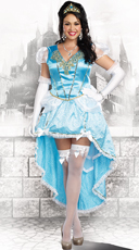 Plus Size Blue Princess Costume