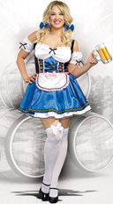 Plus Size German Beer Beauty Costume