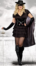 Plus Size Double-Edged Diva Costume