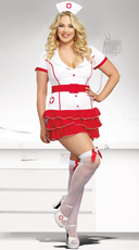 Plus Size Hospital Hottie Costume
