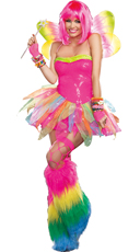 Candy Rainbow Fairy Costume