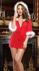 Sexy Holiday Hottie Robe