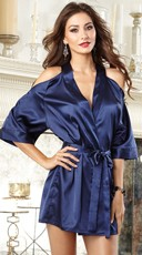 Midnight Blue Beauty Robe