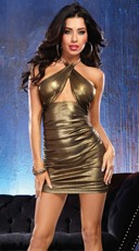 All that Glitters Gold Dress