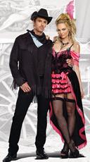 Buck Wild Whiskey Couple Costume
