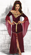 Medieval Enchantress Costume
