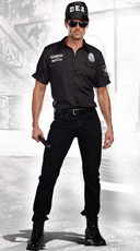 Men's Phil Mypockets DEA Officer Costume