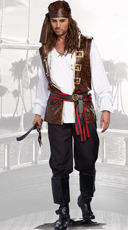 Men's Seaworthy Pirate Costume