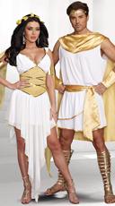 God and Goddess Couple Costume