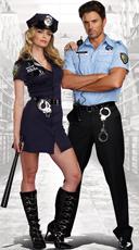 Prison Gard Couple Costume