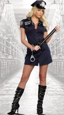 Officer Randi Stopsign Cop Costume