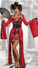 Gorgeous Geisha Costume