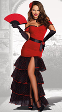 Sexy Flamenco Costume