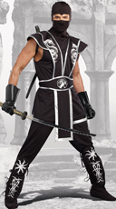 Men's Blades Of Death Ninja Costume
