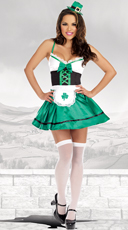 Hot Irish Goods Costume