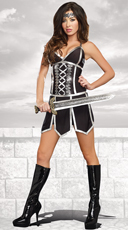 Battle Beauty Warrior Costume