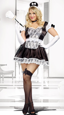 Plus Size Maid For You Costume