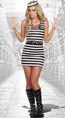 Hittin' The Bars Prisoner Costume