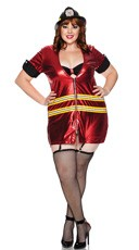 Plus Size Smokin' Costume