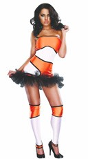 Adult Coral Clownfish Ne-moh Costume