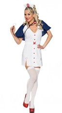 Red Cross Cutie Nurse Costume