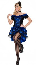 Burlesque Dance Hall Queen Costume