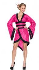 Gorgeous Pink Geisha Costume